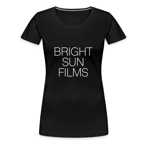 Classic Logo WHITE - Womens Premium T-Shirt - Women's Premium T-Shirt