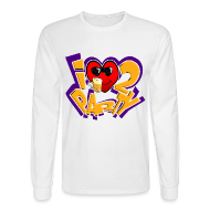 Long Sleeve Shirts ~ Men's Long Sleeve T-Shirt ~ I Love To Party. TM  Mens Long sleeve shirt