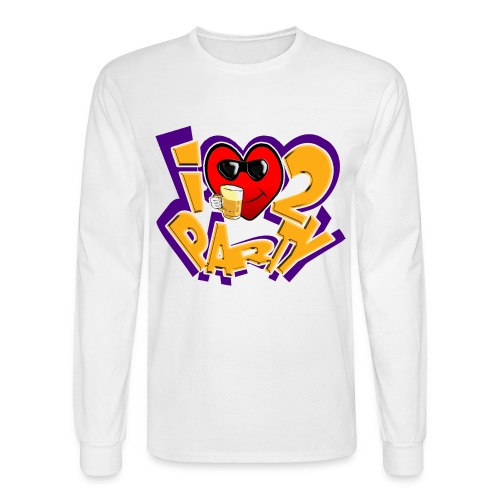I Love To Party. TM  Mens Long sleeve shirt - Men's Long Sleeve T-Shirt