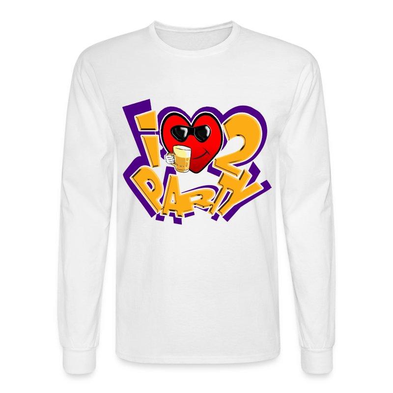 I Love To Party. TM  Mens Long sleeve shirt - Men's Long Sleeve T-Shirt