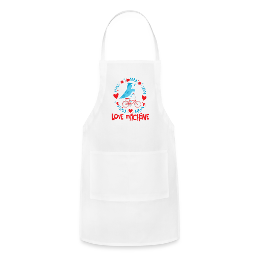 Love Machine Bird Riding Bicycle - Adjustable Apron
