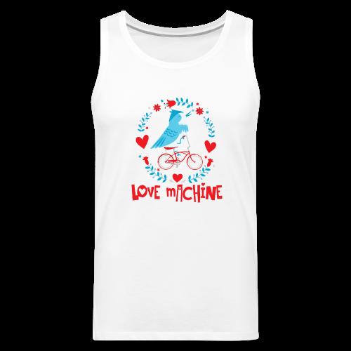 Love Machine Funny Bird on Bicycle