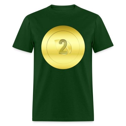 2 Gold Peercoin - Men's T-Shirt