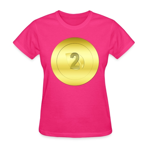 2 Gold Peercoin - Women's T-Shirt