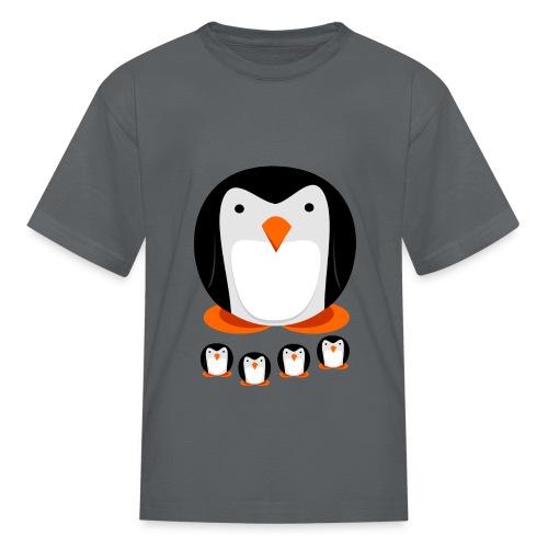 Penguin Family - Kids' T-Shirt