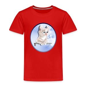 Sweet Pocket Kitten Oval - Toddler Premium T-Shirt