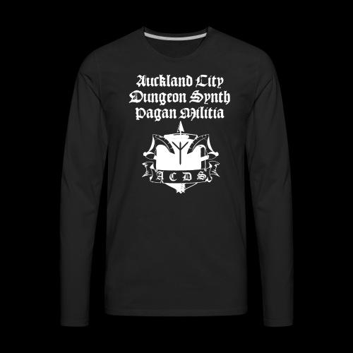 ACDSPM Premium LS front print  - Men's Premium Long Sleeve T-Shirt