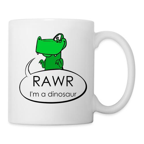 Rawr I'm a dinosaur Cofee Mug - Coffee/Tea Mug