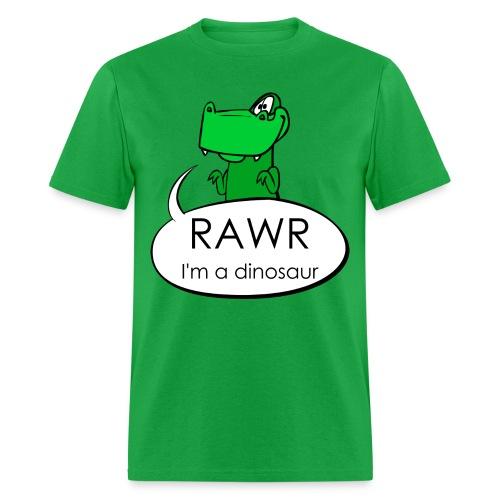 Rawr I'm a dinosaur Standard T-Shirt - Men's T-Shirt