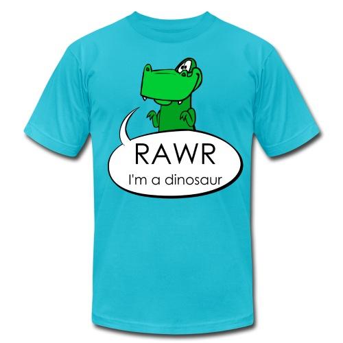 Rawr I'm a dinosaur T-shirt - Men's Fine Jersey T-Shirt