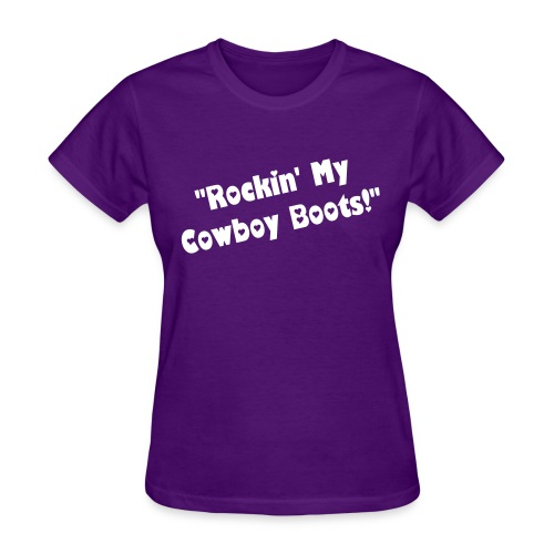 Ladies Cowboy Boots! - Women's T-Shirt