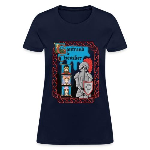 T-shirt pour femmes Gontrand le Chevalier - T-shirt pour femmes