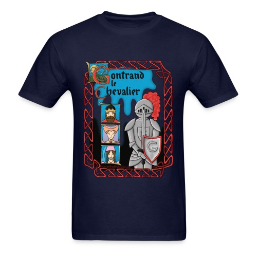 T-shirt pour hommes Gontrand le Chevalier - Men's T-Shirt