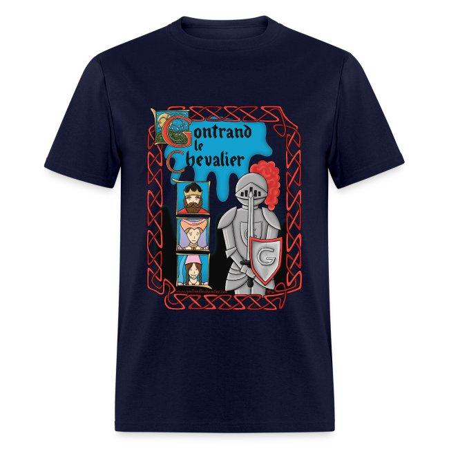 T-shirt pour hommes Gontrand le Chevalier
