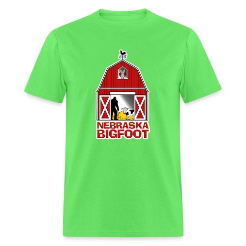 Nebraska Bigfoot - Men's T-Shirt