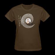 T-Shirts ~ Women's T-Shirt ~ Hollens Brwn