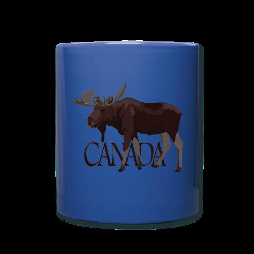 Canada Moose Souvenir Cups & Mugs - Full Color Mug