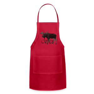 Canada Moose Apron  - Adjustable Apron
