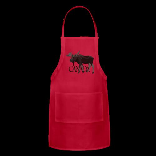 Canada Moose Apron  - Adjustable Apron