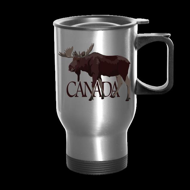 Canada Moose Souvenir Travel Mugs