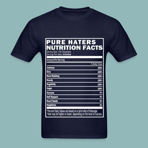 FOR THE HATERS - Men's T-Shirt