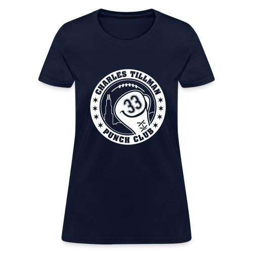 Charles Tillman PUNCH CLUB (#33) - Women's T-Shirt