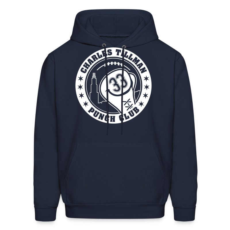 Charles Tillman PUNCH CLUB (#33) - Men's Hoodie