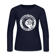 Long Sleeve Shirts ~ Women's Long Sleeve Jersey T-Shirt ~ Charles Tillman PUNCH CLUB (#33)