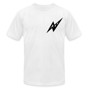 White Beak - Men's T-Shirt by American Apparel