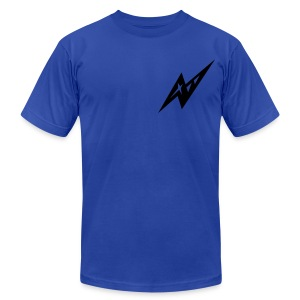 Blue Shot - Men's T-Shirt by American Apparel