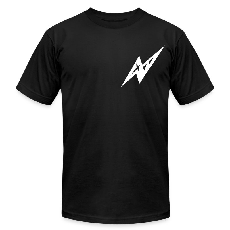 Black Bow - Men's T-Shirt by American Apparel