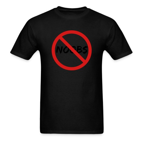 no noobs - Men's T-Shirt