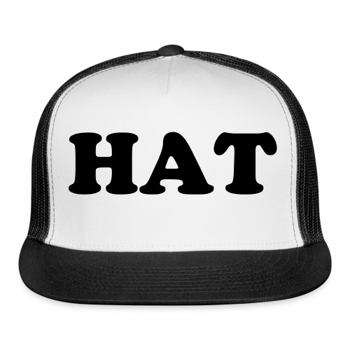 The Hat Hat - Trucker Cap