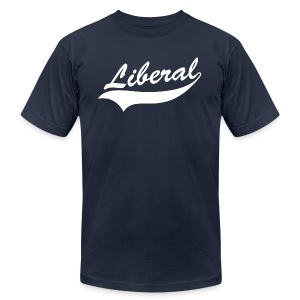 Liberal - Men's T-Shirt by American Apparel