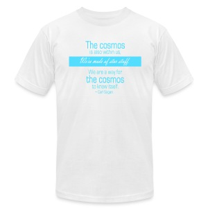 We're made of star stuff - Carl Sagan - Men's T-Shirt by American Apparel