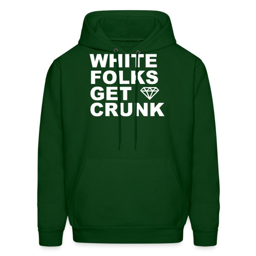 Hanes Hoody (Multiple Colors Available) White Type - Men's Hoodie