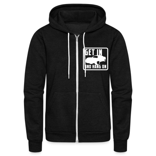 PROCK RACING - Unisex Fleece Zip Hoodie
