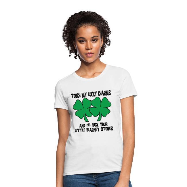 27836063 Grandpas Designer T-Shirts | My Lucky Charms T-Shirt - Womens T-Shirt