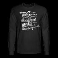 Long Sleeve Shirts ~ Men's Long Sleeve T-Shirt ~ Some Detroit Streets