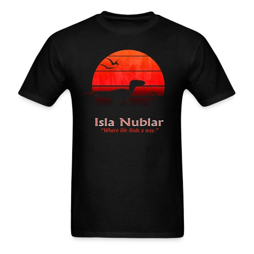Men's Isla Nublar Vacation Tee - Men's T-Shirt