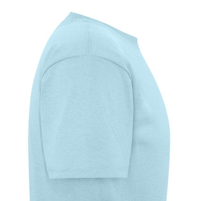Men's Standard Weight T-Shirt ATX Initials on Logo