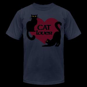 Cat Lover Shirts Men's Shirts Cat T-shirt - Men's Fine Jersey T-Shirt