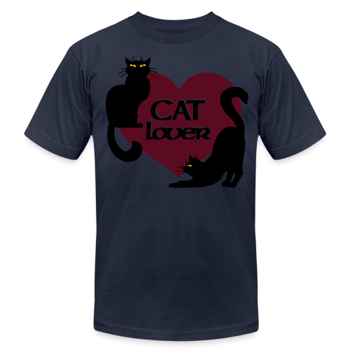 Cat Lover Shirts Men's Shirts Cat T-shirt - Men's Fine Jersey T-Shirt