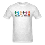 T-Shirts ~ Men's T-Shirt ~ We are all Detroit