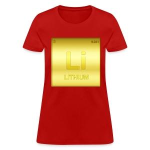 LITHIOUM - Women's T-Shirt