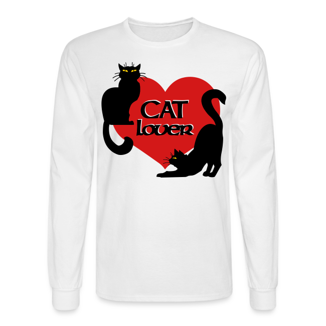 Cat Lover Shirts Men's Shirts Cat T-shirt