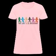 Women's T-Shirts ~ Women's T-Shirt ~ We are all Detroit