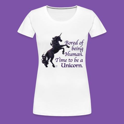 Time to be a Unicorn Classy Shirt - Women's Premium T-Shirt