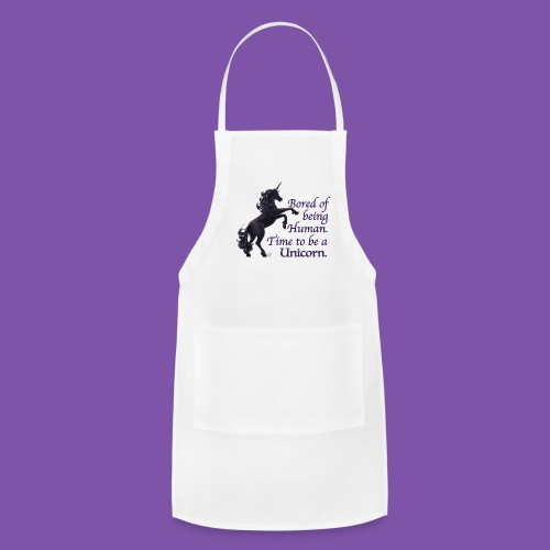Time to be a Unicorn Apron - Adjustable Apron