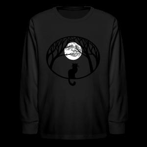Cat Lover Shirts Kid's Shirts Cat T-shirt - Kids' Long Sleeve T-Shirt